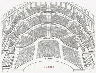 Схема зала: Международный